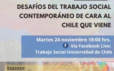 Seminario «Desafíos del Trabajo Social Contemporáneo de cara al Chile que viene»